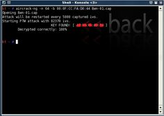 How to Crack a Wi-Fi Network's WEP Password with BackTrack