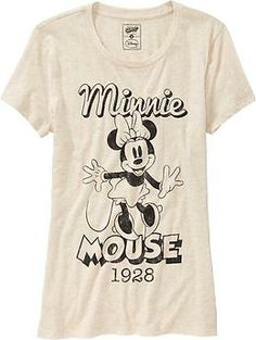 Women's Disney© Vintage Minnie Mouse Tees | Old Navy