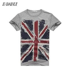 822cd50e491 E-BAIHUI Brand new summer style Cotton men Clothing Male Slim Fit t shirt  Man T-shirts Casual T-Shirts Swag mens tops tees Y001