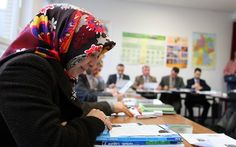 Woman forced to learn German after 30 years