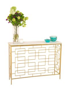 Allessandra Console Table from Apartment for Her on Gilt