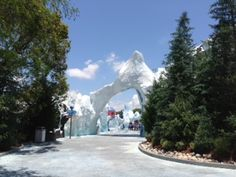 Entrance to Antarctica: Empire of the Penguin #SeaWorld #Orlando