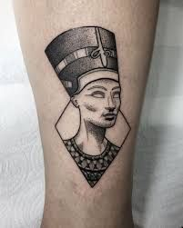 091c31475dba2 Queen Nefertiti Tattoo 50 | Queen Nefertiti Tattoo | Nefertiti ...
