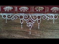 Simple Rangoli Border Designs, Rangoli Designs Latest, Rangoli Borders, Rangoli Designs Flower, Free Hand Rangoli Design, Small Rangoli Design, Colorful Rangoli Designs, Rangoli Designs Diwali, Kolam Rangoli