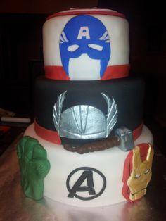 Avengers Cake for RC— Children's Birthday Cakes