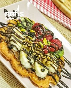 Vegetable Pizza, Waffles, Yummy Food, Vegetables, Ali, Recipes, Breakfast, Delicious Food, Waffle