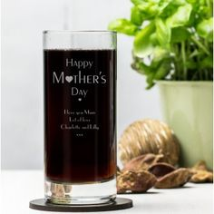 Engraved Hi Ball Glass - Regal Year Wedding Gifts For Families, Wedding Gifts For Bride And Groom, Bride Gifts, Gifts For Family, Personalised Glasses, Personalized Valentine's Day Gifts, Engraved Wedding Gifts, Engraved Gifts, Christmas Gifts For Him