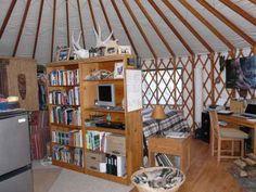 Living in a Yurt : TreeHugger
