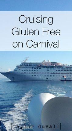 Cruising Gluten Free on Carnival - #gf