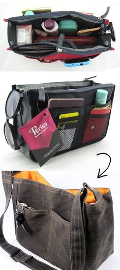 926a481963 Purse Organizer -- 55 Genius Storage Inventions That Will Simplify Your Life