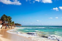 Located further up the coast, the picturesque beaches of Playa del Carmen are considered some of Mexico's best. All Inclusive Mexico, Mexico Resorts, All Inclusive Vacations, Mexico Vacation, Mexico Travel, Dream Vacations, Mexico Beach Weddings, Destination Weddings, Reasons To Get Married