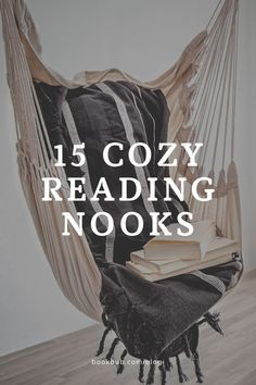 15 cozy reading nook photos to inspire your next home decor project.  #books #reading #nooks Reading Nook Kids, Library Inspiration, Nook Ideas, Book Nooks, Next At Home, Book Lovers, Decorating Ideas, Relax, Wellness