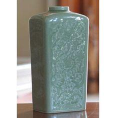 Novica Valley Lotus Celadon Ceramic Vase | Shop by Category| Mother's Day | World Market