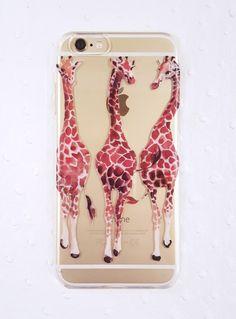 Three Giraffes (iPhone 6 Case)