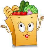 Grocery Store Clip Art   Grocery Bag - clipart graphic Royalty Free Clipart, Trendy Bedroom, Shopkins, Grocery Store, Bedroom Decor, Bedroom Ideas, Playroom, Clip Art, Christmas Ornaments