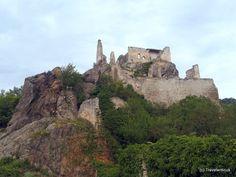 Richard the Lion Heart King Castle ruins in Dürnstein, Wachau Valley, Austria