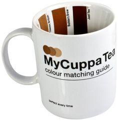 Pantone-esque SUCK UK My Cuppa Tea Mug