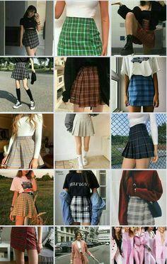 Estilo Kylie Jenner, Skater Skirt, Skirts, Fashion, Moda, Fashion Styles, Skater Skirts, Skirt