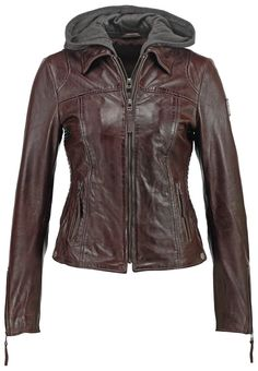 Freaky Nation Lederjacke brown Bekleidung bei Zalando.de | Material Oberstoff: 100% Leder | Bekleidung jetzt versandkostenfrei bei Zalando.de bestellen!