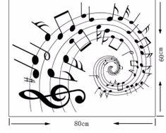 Kvalitná nálepka na stenu z PVC - MUSIC - 60 x 80 cm Arabic Calligraphy, Music, Art, Musica, Art Background, Musik, Kunst, Muziek, Arabic Calligraphy Art