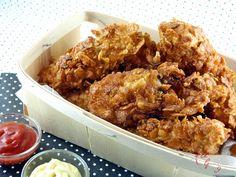 Une Graine d'Idée: Poulet pané au CornFlakes (façon KFC)