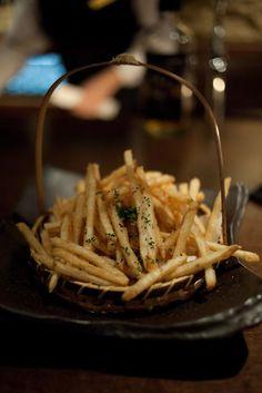 japanese garlic frites.: oiishi!
