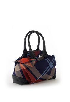 Vivienne Westwood Capri Tartan Bag 6133 Mac Edinburgh