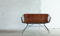 Overgaard-Dyrman_Wire-Lounge-Sofa_cognac_light $$$$
