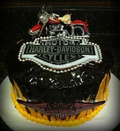 #harleydavidson #cake
