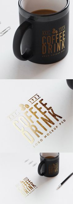 Hi friends, have a nice day with this Logo on Paper And Coffee Cup Free PSD Mockup presentation in PSD format. The mockup scene gives you an elegant and modern look with gold foil effect on the paper and the coffee cup in a photorealistic way.