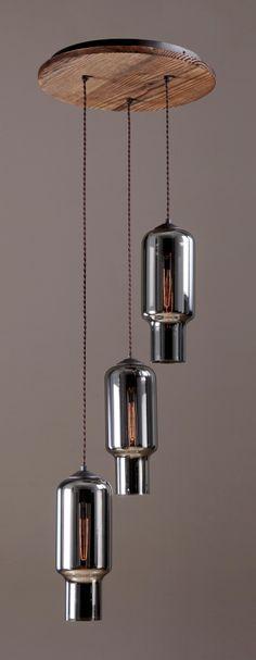 NEW YORKER triple pendant light by www.reclamations.co