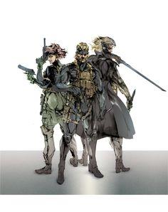 Shinkawa High Rez: No Rookies Here #MetalGearSolid #mgs #MGSV #MetalGear #Konami #cosplay #PS4 #game #MGSVTPP