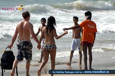 Enjoy weekend with your friends at Goa Beach.