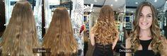 Hoy os invitamos a visualizar un formidable trabajo de nuestra súper estilista María. Las fotos hablan por sí solas, sólo podemos decir que nuestra clienta quedo totalmente encantada, se trata de unas californianas con Blonding Cream Ask a 40v. ¿Qué os parecen los resultados?