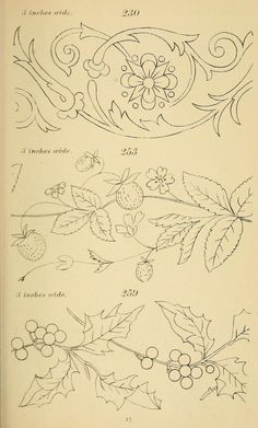 Grand Sewing Embroidery Designs At Home Ideas. Beauteous Finished Sewing Embroidery Designs At Home Ideas. Embroidery Designs, Vintage Embroidery, Ribbon Embroidery, Cross Stitch Embroidery, Embroidery Art, Craft Patterns, Flower Patterns, Quilting Patterns, Motifs Art Nouveau