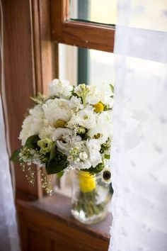 Wild Hare Flowers bouquet at a Grand Isle Lake House Wedding