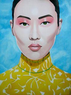 Christian Develter Portrait Painting - Chunghua