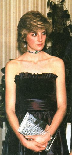 """December 9, 1982: Princess Diana at the """"ET"""" premiere at the Empire Theatre, Leicester Square, London."""