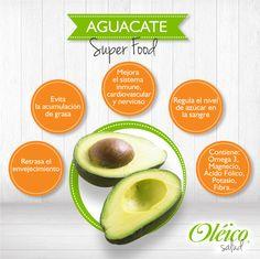 """""""BENEFICIOS DEL AGUACATE""""  #Oleico #Superfood"""