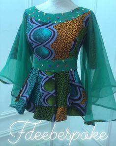 classy ankara skirt and blouse Short African Dresses, African Blouses, Latest African Fashion Dresses, African Print Fashion, African Fashion Traditional, Style Africain, Trendy Ankara Styles, African Print Skirt, Stylish Work Outfits