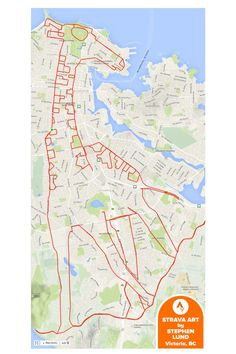 BC Canada cyclist Stephen Lund has found a way to create cute GPS doodles art on an epic scale. Lund uses his GPS to map his multi-kilometer creations. Lund, Giraffe Pictures, Graffiti, Gps Map, Map Painting, Map Globe, Amazing Drawings, City Maps, Creative Thinking