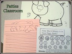 PATTIES CLASSROOM: Pigs Will Be Pigs and Money Piggy Banks (Project Based Learning)