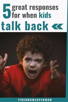 Positive Discipline: What To Do When Your Child Talks Back - Parenting Advice: Get easy and effective tips that will help you handle kids talking back in a posi - Peaceful Parenting, Gentle Parenting, Parenting Books, Kids And Parenting, Parenting Tips, Toddler Behavior, Toddler Chores, Toddler Boys, Talking Back