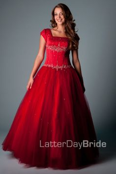 Bridesmaid & Prom, Mabrey | LatterDayBride & Prom -Modest Mormon LDS Prom Dress