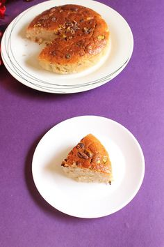 Eggless Cardamom Cake Recipe, How to make Eggless Cardamom Cake with cream
