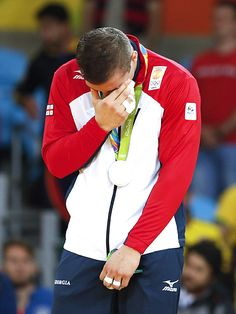 The Best Crying Faces of the 2016 Rio Olympians   VARLAM LIPARTELIANI OF GEORGIA…