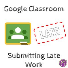 When students submit work in Google Classroom a notification is not created. This can be an issue when work is submitted late or when students make updates to their work that need to be commented o…