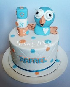 Giggle and Hoot Cake by HeavenlyDlights