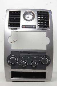 05 07 chrysler 300 climate control radio clock navigation vents bezel trim unit - Categoria: Avisos Clasificados Gratis  Item Condition: Used 0507 CHRYSLER 300 CLIMATE CONTROL RADIO CLOCK NAVIGATION VENTS BEZEL TRIM UNITPrice: US 139.99See Details