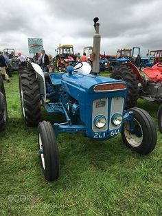 Fordson Dexta. Spent half my youth driving this yoke by SjoerdBosch